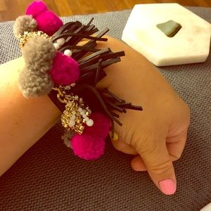 Baublebar pom Pom bracelet NWT